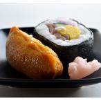 寿司キャンドル 好物ローソク 助六寿司キャンドル いなり寿司と太巻き寿司のセットガリ付き 御供 お墓参り お彼岸 お盆 進物 故人の好物ローソク