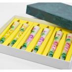 数量限定 特別ギフト手描き 絵ろうそく 蓮の花 三色セット 3号6本入り3色の蓮花セット お彼岸 お盆 進物 蓮