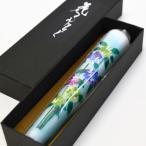 越後花ろうそく 和蝋燭 新潟生まれの手描き絵ろうそく 紫陽花 あじさい 15cm1本入り ろうそく ローソク