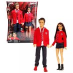 バービー人形 トイストーリー 着せ替え人形 正規輸入品 Mattel Year 2008 Barbie TV Series REBELDE RBD 2 Pack 12 Inch Doll Set - DIEGO BUSTAMANTE with