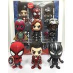 スパイダーマン フュギュア コレクタードール  Hot Toys COSB272 Captain America:Civil War Team Iron Man With Spider-Man Cosbaby