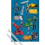 おもちゃ サンダーバード 輸入品Posters: Thunderbirds Poster - Are Go, Profiles (36 x 24 inches)