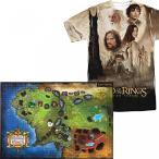 ショッピングmiddle パズル ゲーム 教育 正規輸入品 (Set) Lord Of The Rings Middle Earth 4D Puzzle And The Two Towers T-Shirt XL
