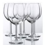 IKEA イケア SVALKA 赤ワイングラス 6ピース クリアガラス ディナー スヴァルカ 食卓 パーティ グラス 輸入