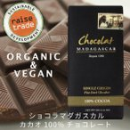 ショコラマダガスカル ダークチョコレート100% ビーントゥーバー/ツリートゥーバー オーガニック フェアトレード