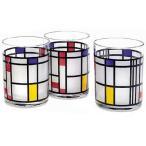 MoMA モンドリアン タンブラー コップ グラス モマ アートグラス おしゃれ かわいい モンドリアン タンブラー コップ グラス モマ グラス