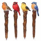 ソングバードボールペン 小鳥 鳥 ボールペン おもしろ 筆記具 事務用品 バレンタイン