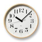 リキクロック RC L 電波時計 掛け時計 RIKI CLOCK Lemnos 壁掛時計 壁掛け