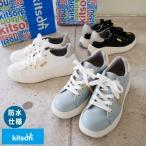 kitson キットソン ローカットスニーカー 靴 レディース 厚底 フラットソール 撥水加工 軽い サスティナブル 環境 アメリカ LA ロゴ 滑りにくい 紐 シンプル 3e