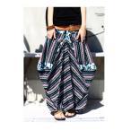 不思議なカタチと柄で魅せる。変形柄ロングスカート・5月19日20時〜再販。##