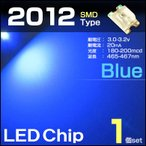 LEDе┴е├е╫ 2012 е╓еыб╝ 1╕─ └─ blue SMD еиеве│еєе╤е═еы ┬╟┬╪ди есб╝е┐б╝ е╨ещ╟фдъ ╚п╕ўе└едекб╝е╔