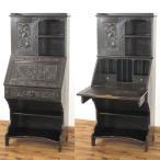 1880年頃 イギリスアンティーク家具 ビューローブックケース ライティングビューロー 52890