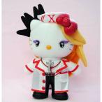 ぬいぐるみ SANRIO 2015 Hello Kitty x X JAPAN Yoshikitty Nurse Plush Doll Stuffed Cosplay