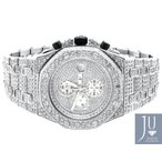 オーデマピゲ  腕時計 Iced Mens Jewelry Unlimited Jojino Joe Rodeo Simulated Diamond Watch 43MM AP-01