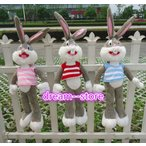 "ぬいぐるみ 39"" 51"" 63"" 71"" Bugs Bunny Sweater Plush Doll Soft Stuffed Toy"