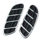 ショッピングハーレーダビッドソン Kinetic Floorboard Inserts フロアボード クリヤキン SweptWing クロム 4396 H-D ハーレーダビッドソンパーツ HARLEY-DAVIDSON MOTOR PARTS