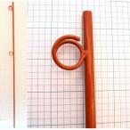 (ポイント5倍) オレンジ鉄筋杭K 鉄筋丸棒 鉄杭 2段 L=1500mm 10本セット