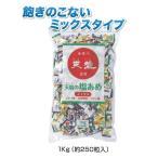 熱中症対策 天塩の塩あめ ミックス(ぶどう・日向夏・パイン味) 1kg(約250粒入り)1袋  CN3006-A