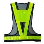 安全ベスト 夏用サマーベスト 安全ベスト 穴あき台座シート付 紺メッシュ/黄色反射 SV50-BL(T) 大きな網目+穴あき反射テープ