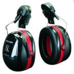イヤーマフ ヘルメット用 防音 H540P3E ぺルター製 (遮音値/NRR27dB) (3M/PELTOR) 耳栓
