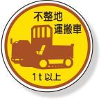 ヘルメット用ステッカー 作業管理ステッカー 不整地運搬車1t以上|370-94A