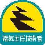 ヘルメット関連用品 ステッカー 電気主任技術者|851-50
