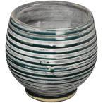 Clayオリジナルデザイン花器「Panier(パニエ)」フランス語で「籠(かご)」という名の花瓶。紐をくるくる巻きつけたっぽい模様が特徴的。
