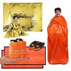 エマージェンシーシート サバイバルシート 非常用寝袋 袋型 リバーシブル アルミ シート 防寒 ヒートシート 防災グッズ 防水 防風 封筒型