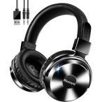 ワイヤレスヘッドホン ヘッドホン bluetooth ヘッドフォン 無線 有線対応 高音質重低音 マイク付き ゲーミングヘッドセット PC USB 送料無料 (Y17)