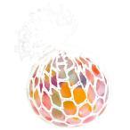 にぎってつぶつぶレインボーボール Sサイズ 24入 景品 おもちゃ 子供会 お祭り くじ引き 縁日 お子様ランチ