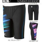 N2MB6930 92 130サイズ 競泳水着 ジュニア 男子 MIZUNO ミズノ FINA承認モデル Terakawa Aya Collection ハーフスパッツ