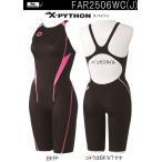 FAR2506WJC BKFP 140サイズ 競泳水着 ジュニア 女子 ARENA アリーナ X-パイソン ジュニア女子ハーフスパッツ
