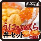海鮮丼 うに・イクラ丼 海鮮詰め合わせ お取り寄せグルメ (ウニ100g・いくら80g×2パック)