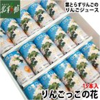 【ゴールド農園 りんごっこの花 15本入】 青森県産りんごジュース 送料込み・産地直送 青森