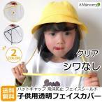 子供用 ウイルス対策 フェイスガード 幼児用 幼稚園 保育園 子供 キッズ 帽子対応 フェイスカバー 取り外し可 携帯用 フェイスシールド 花粉 飛沫防止 軽量