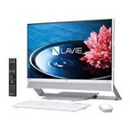 新品同様 NEC LAVIE Desk All-in-one DA770/EAW PC-DA770EAW [ファインホワイト]