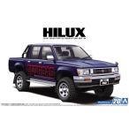 1/24 トヨタ LN107 ハイラックス ピックアップ ダブルキャブ4WD '94 ザ・モデルカー No.20 #プラモデル