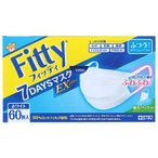 フィッティ Fitty 7DAYSマスク EXプラス 60枚入 ホワイトふつうサイズ 4901957214853