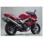 2輪 ヤマモトレーシング spec-A マフラー TI2-1-2 UP-TYPE チタン 品番:11003-52TTN ホンダ VTR1000F
