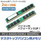 AP デスクトップパソコン用メモリ AMD専用 DDR2 …
