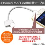 AP iPhone/iPad/iPod用充電ケーブル 4/4s以前のケーブルを使用可 AP-TH119