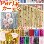 ショッピングフリンジ AP パーティーフリンジカーテン 約100×200cm イベント・パーティに♪ 選べる10カラー AP-UJ0170-200