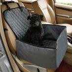 AL ペット用品 900Dナイロン防水 旅行 2in1 キャリア 犬 折りたたみ厚い 猫 カー ブースターシート カバー アウトドア バッグ ハンモック New Gray AL-AA-2678