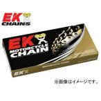 2輪 EK/江沼チヱン レーシングチェーン QXリング オンロードレース用 ゴールド 520RR(GP,GP) 100L 継手:MLJ ホンダ TLM200R TLR200 TRX200SX XL200RC