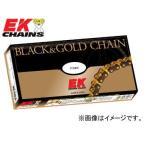 2輪 EK/江沼チヱン シールチェーン NXリング ブラック&ゴールド 530ZVX3(BK,GP) 114L 継手:MLJ トライアンフ サンダーバード レジェンドTT タイガー
