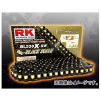 2輪 RK EXCEL シールチェーン BL ブラック BL530X-XW 104L FZ600 SR500 2J2/48U/4E6/4F9/1RU TX650 XJ550 XS650 XS650SE