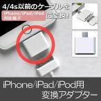 AP iPhone/iPad/iPod用変換アダプター 4/4s以前のケーブルを使用可 同期&充電OK! 30→8ピン AP-TH107