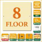 階数表示板 当階階段 階数 表示 アルミパネル サイン プレート 印刷付 b1 デザイン ビス穴有り 安全標識 看板 DIY 建築 建設