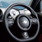 AMSECHS アムゼックス スポーツステアリングホイール ミニ R56・R60系 イタリアン最上級ナッパレザー