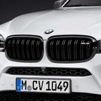 BMW M Performance ブラック・キドニー・グリル(F85 X5M)